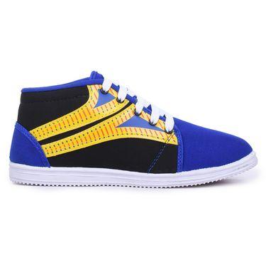 Branded Canvas Multicolor Sneaker Shoes -F1