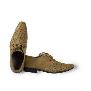Stylox Faux Leather Formal Shoes FA-STY-SH-5022-Beige