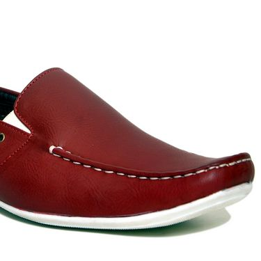 Stylox Faux Leather Loafer Fa-Sty-Sh-8709 -Red