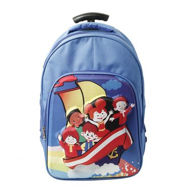 Family Travel Combo of Cabin Trolley Bag, Cabin Duffle Bag with Wheels and Kids Trolley Backpack - FD-227