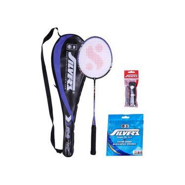 Silver's Pack of 1 Flex Flex Badminton Combo - Multicolor