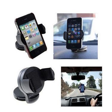 Fly Compact Mobile Car Holder - Black