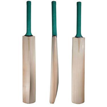 Facto Power Nude Kashmir Willow Cricket Bat With Popular Handle (Model : 1331)