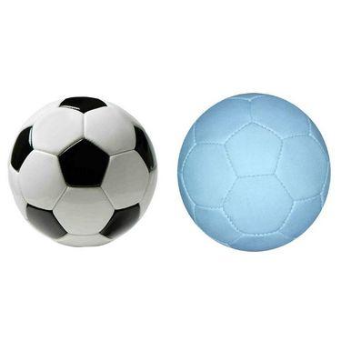 White (1771) Gorgeous Football Size 5 with Black White (1771) Gorgeous PVC Football Size 5