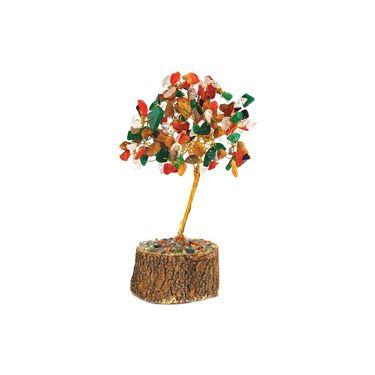Fengshui Gem Tree Symbol Of Wealth & Prosperity - Multicolour