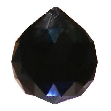 Fengshui Crystal Ball 40 mm - Black