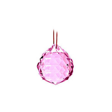 Fengshui Crystal Ball 40 mm - Pink