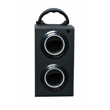 Flashmob C305SP Wooden Bluetooth Bookshelf Speaker With Remote - Black