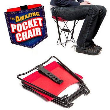 Kawachi Folding Pocket Chair - Red