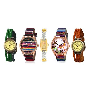 Pack of 5 Branded Women Watches_Gl0130
