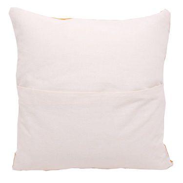 GRJ India Traditional Kantha Work  Animal Print Cushion Cover Set-5 pcs-GRJ-CC-5P-30