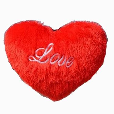 Valentine Combo of 2 Feet Teddy & Soft Toy Heart - Pink