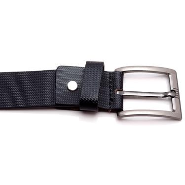 Porcupine Leather belt - Black_GRJBELT8