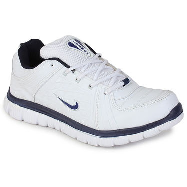 Branded White & Blue Sports Shoes -Gbs05