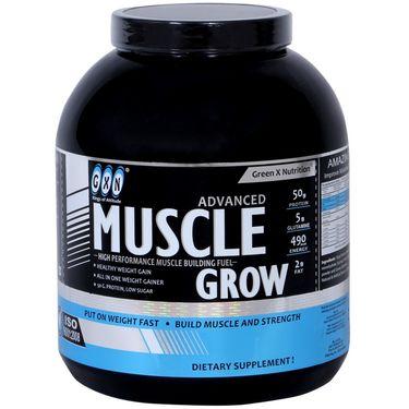 GXN Advance Muscle Grow 4 Lb (1.81kg) Vanilla Flavor
