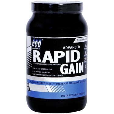 GXN Advance Rapid Gain 2 Lb (907grms) Banana Flavor