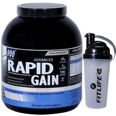 GXN Advance Rapid Gain 6 Lb (2.27kgs) Butterscotch Flavor  + Free Protein Shaker