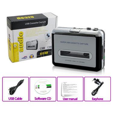 Gadget Hero EZCAP Walkman Audio Cassette Tape Player to MP3 Converter