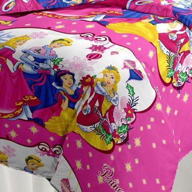 eCraftIndia Designer Printed Kids Single Bed Reversible AC Blanket-HFBD105
