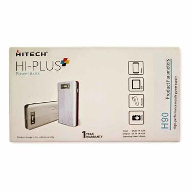 Hitech HI-PLUS Power Bank H90 - White