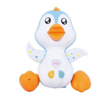 Funny Pingu Walking & Singing Penguin - Multicolor
