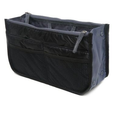 Branded Nylon Travel Organizer Ho_Black