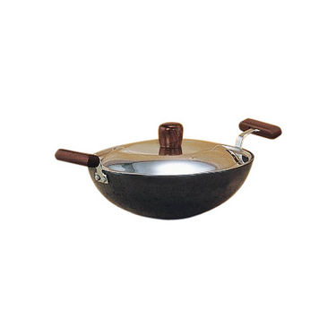 Hawkins Futura HA Deep Fry Pan (Kadhai) with SS Lid 1.5L