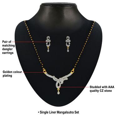 Heeron Ki Saugaat American Diamond Collection by Sterling