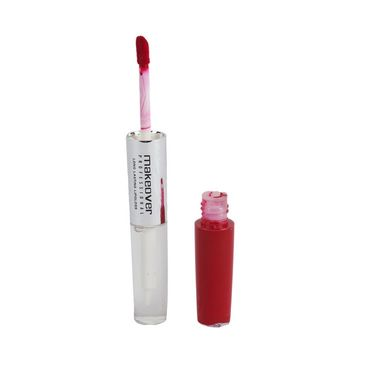 Makeover Professional Long Lasting Lip Gloss  Hot Red