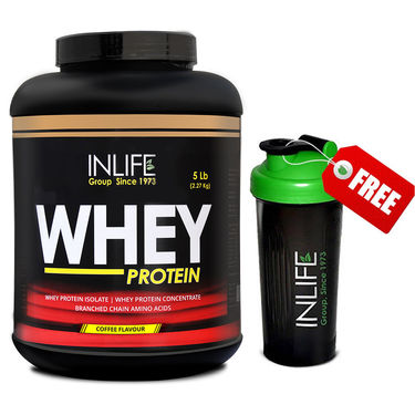 INLIFE Whey Protein 5Lb (2.27Kg) Coffee Flavour