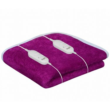 Warmland Electric Double Bed Blanket-Pink-IWS-EB-13
