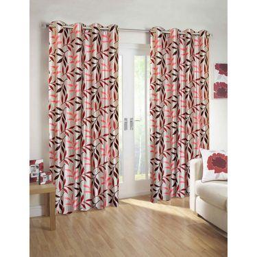 10 Piece Home Decor  Combo (IWS 2 Bedsheet with 4 Pillow Covers + 2 Door Curtains + 2 Mats)