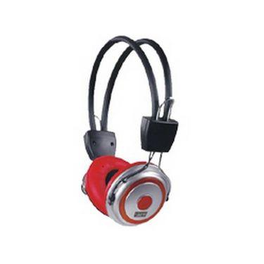 Intex Hiphop Headset - Black & Red