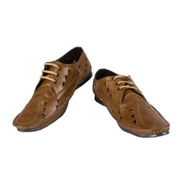 Yellow Tree Synthetic Leather Casual Shoes Italino-Tan