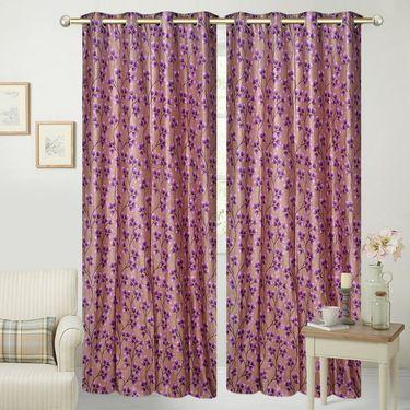 JBG Home Store Set of 2 Beautiful Design Door Curtains-JBG926_1PAD