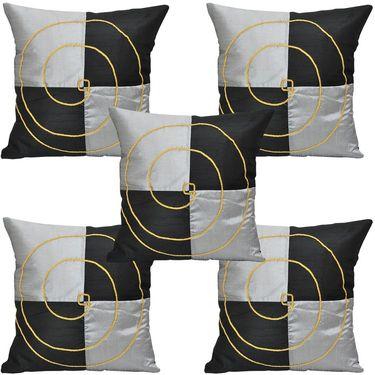 Set of 5 Multicolor Floral Cushion covers - JBG_BGJ