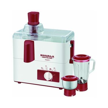 Maharaja Whiteline Ss Happiness Juicer Mixer Grinder_JX-100