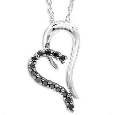 Kiara Swarovski Signity Sterling Silver Jammu Pendant_Kip0460