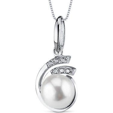 Kiara Swarovski Signity Sterling Silver Vaidhahi Pendant_Kip0463