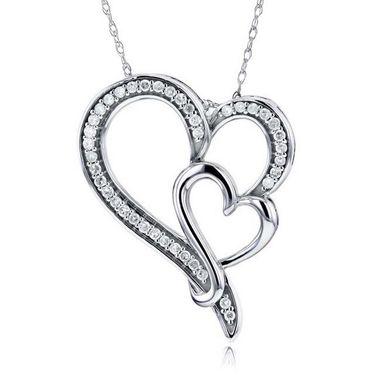 Kiara Swarovski Signity Sterling Silver Trupti Pendant_Kip0464
