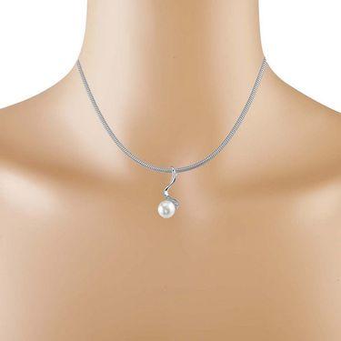 Kiara Swarovski Signity Sterling Silver Anjali Pendant_Kip0570