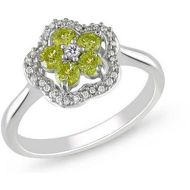 Kiara Swarovski Signity Sterling Silver Sonam Ring_Kir0674 - Silver