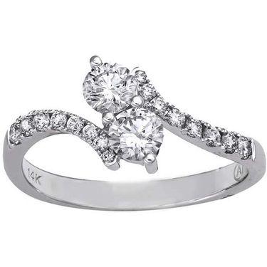 Kiara Swarovski Signity Sterling Silver Kajol Ring_Kir0676 - Silver