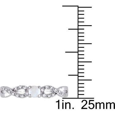 Kiara Swarovski Signity Sterling Silver Amruta Ring_Kir0686 - Silver