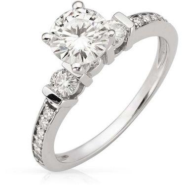 Kiara Swarovski Signity Sterling Silver Minal Ring_Kir0711 - Silver