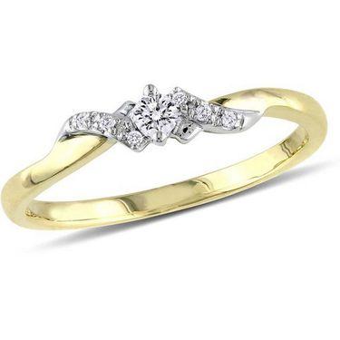 Kiara Swarovski Signity Sterling Silver Renuka Ring_Kir0741 - Golden