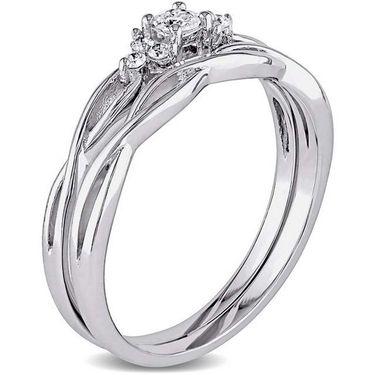 Kiara Swarovski Signity Sterling Silver kavya Ring_Kir0773 - Silver