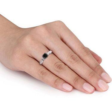 Kiara Swarovski Signity Sterling Silver Trisha Ring_Kir0805 - Silver