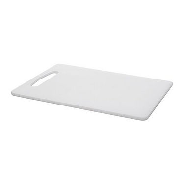 Heavy Duty Chopping Board - Handle Without Care - White