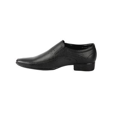 Bacca bucci Faux Leather  Formal Shoes KP-33 - Black